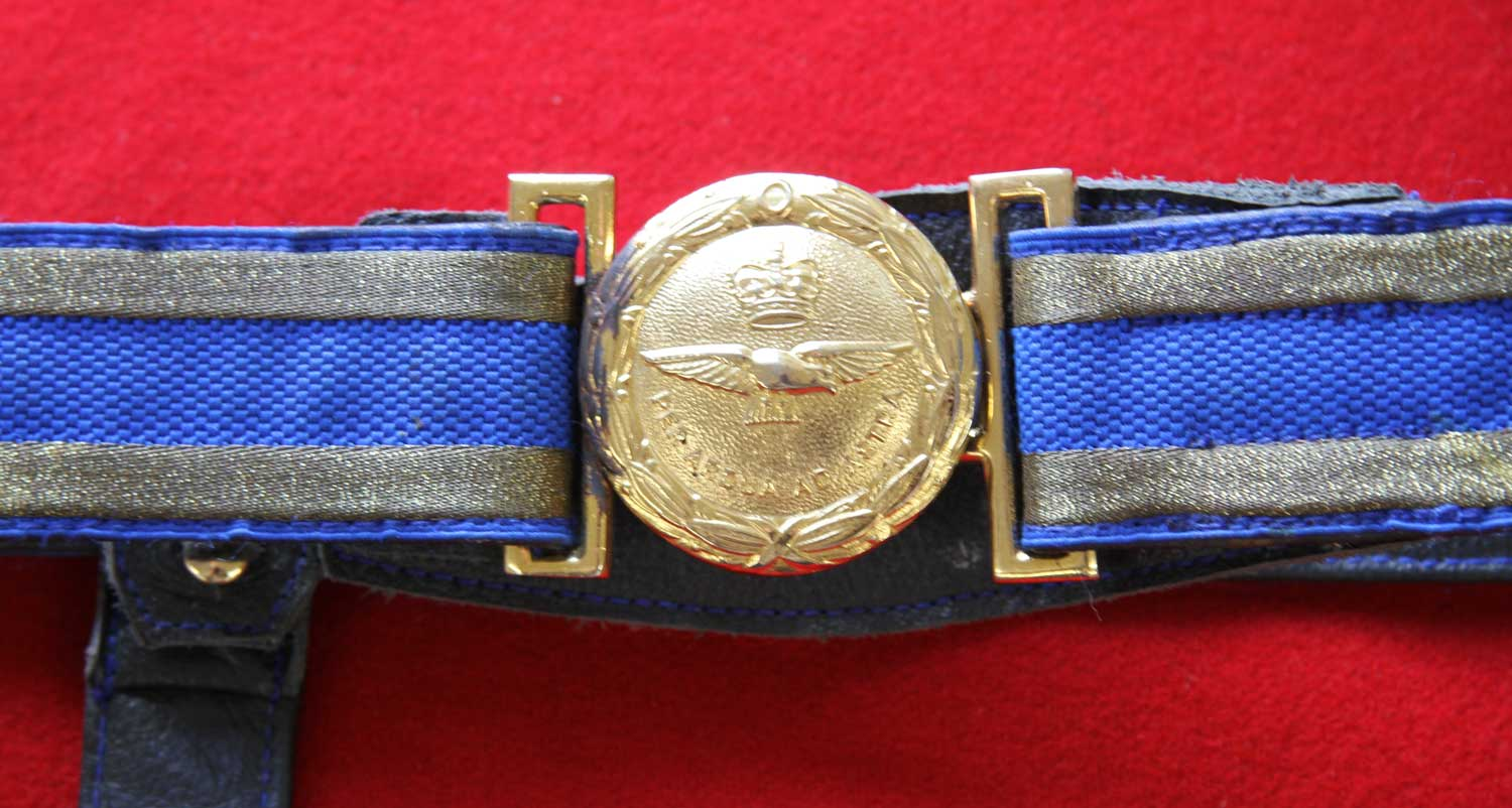 British, Royal Air Force Waist Belt and Slings