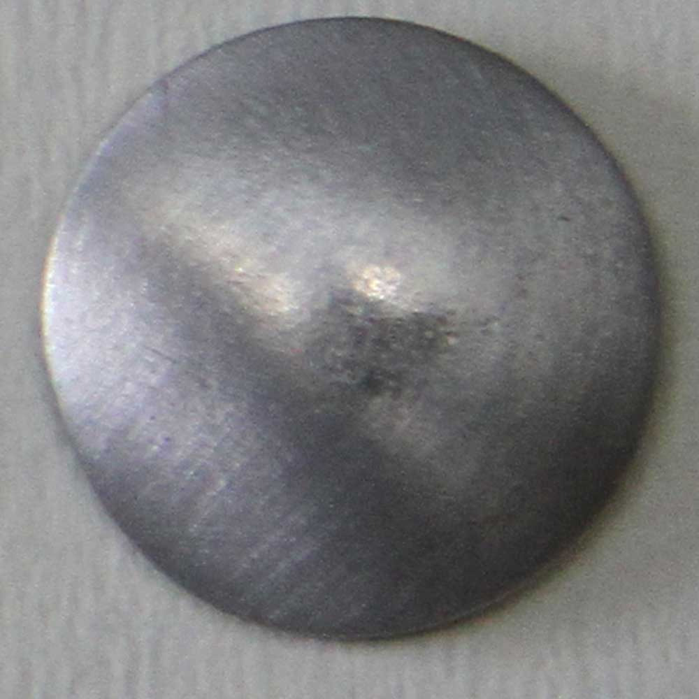 Plain Domed button