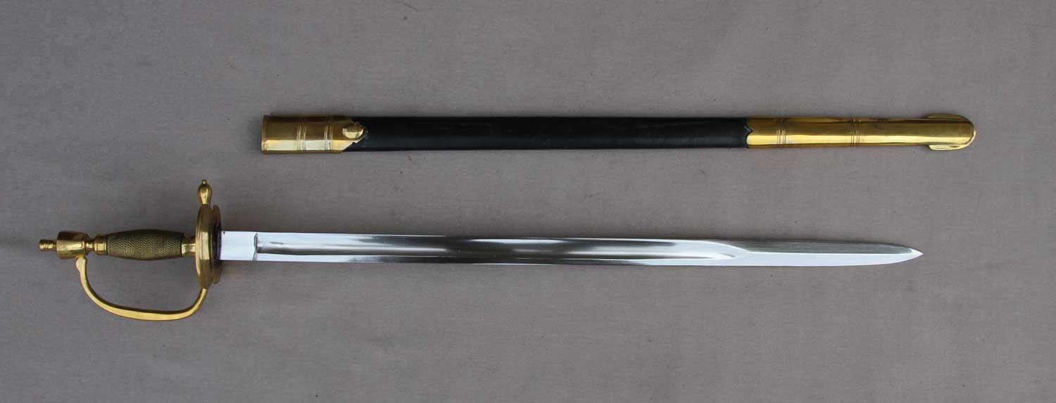 British, Drummer's Sword, 1796 Pattern