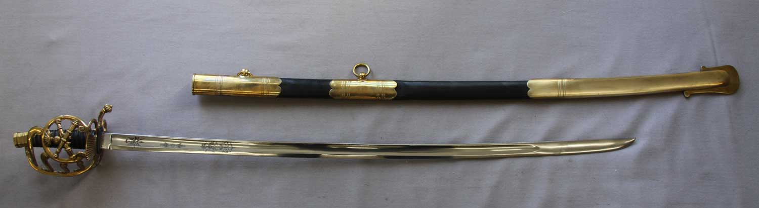 French, Artillery Officer's Sword