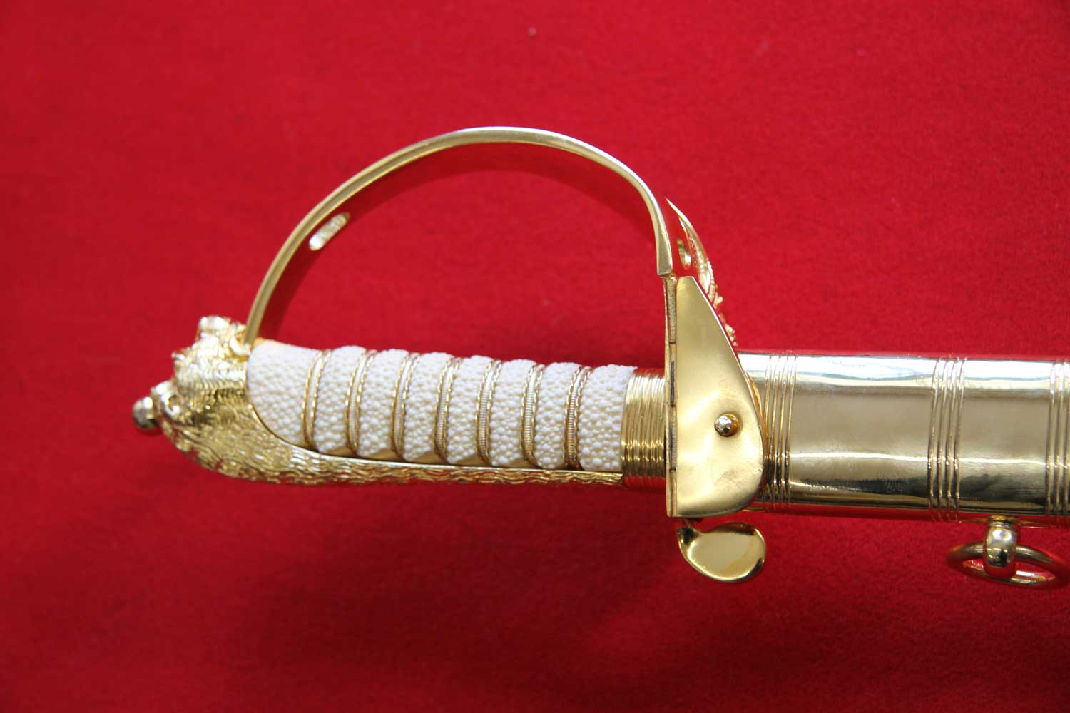 British, 1827 Naval Officer's Sword - Click Image to Close