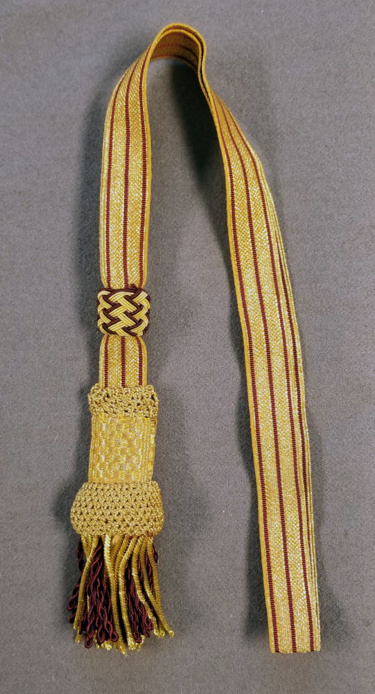 British Regimental Officer, Sword Knot