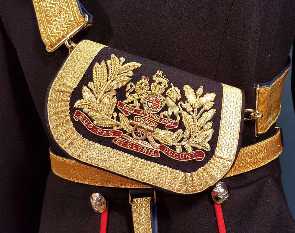 British, Royal Artillery Pouch and Belt, 1864