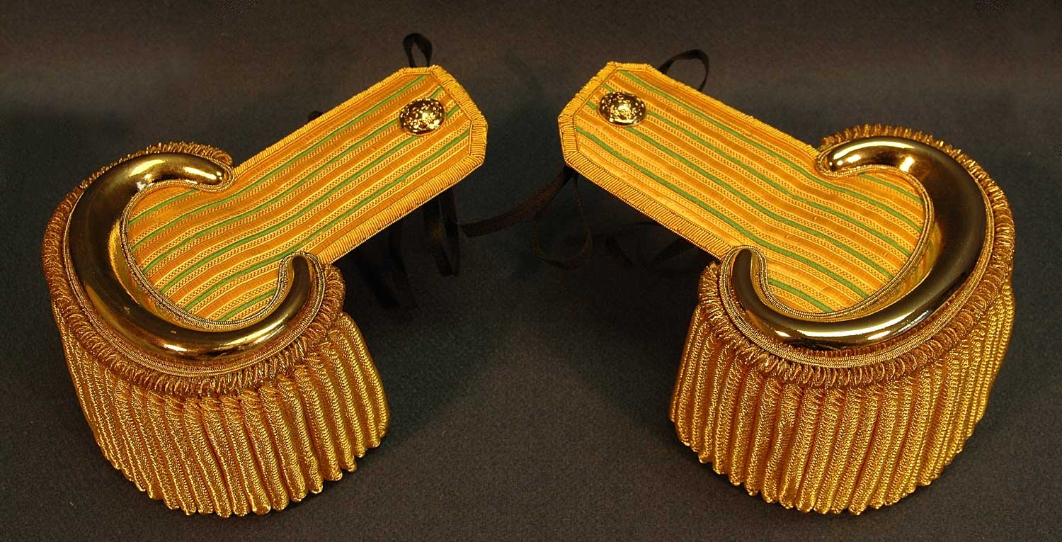 British, 1833 24th Foot Officer's Epaulettes