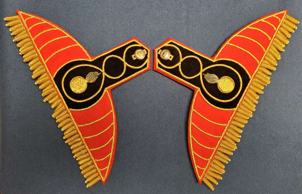 British, 89th Regt of Foot, Grenadier Company Wings