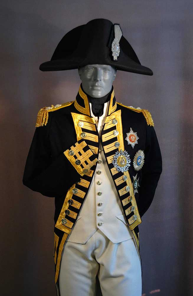British, Royal Navy, Nelson's Uniform