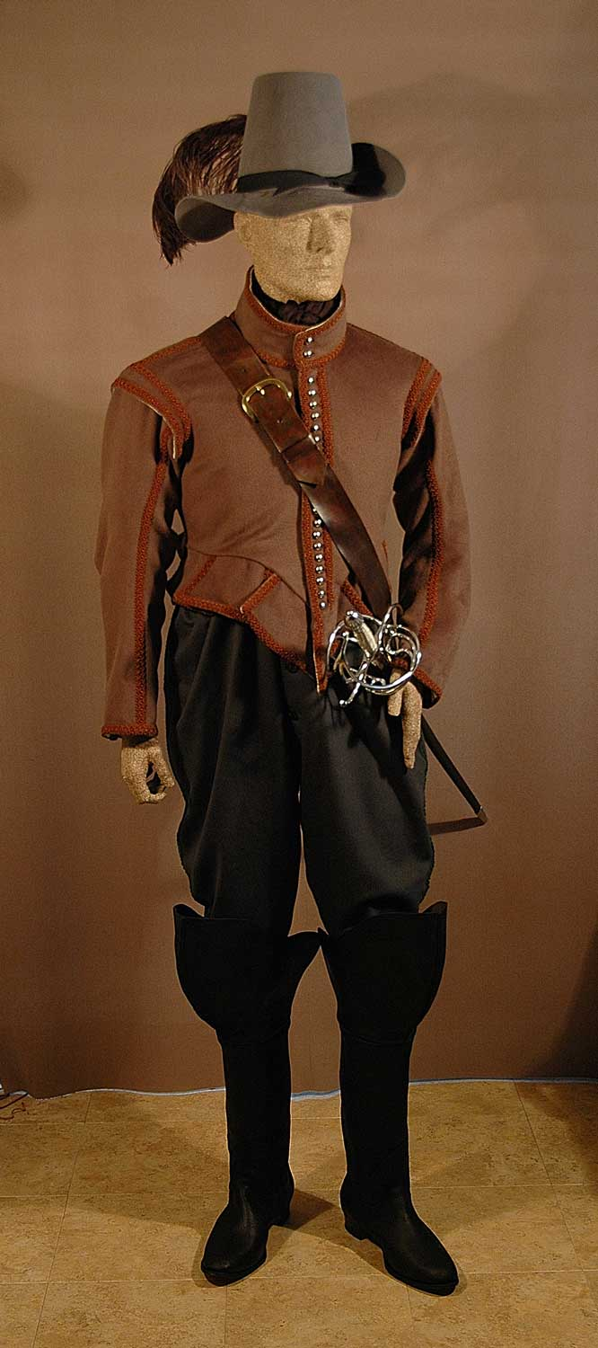 French, Explorer's Clothing, 1608