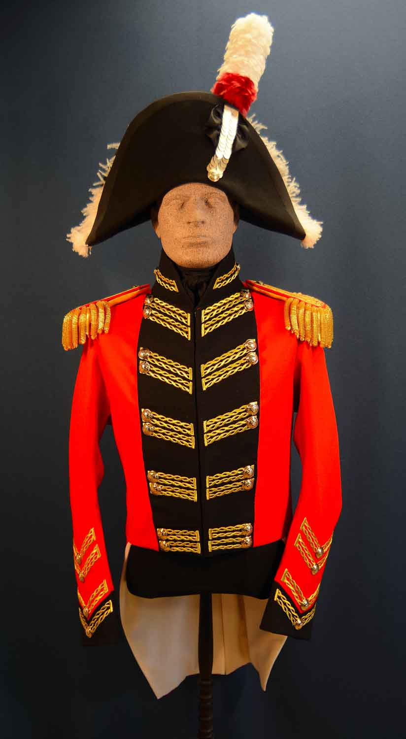 British, 1811, Major General, Full Dress Coat & Hat