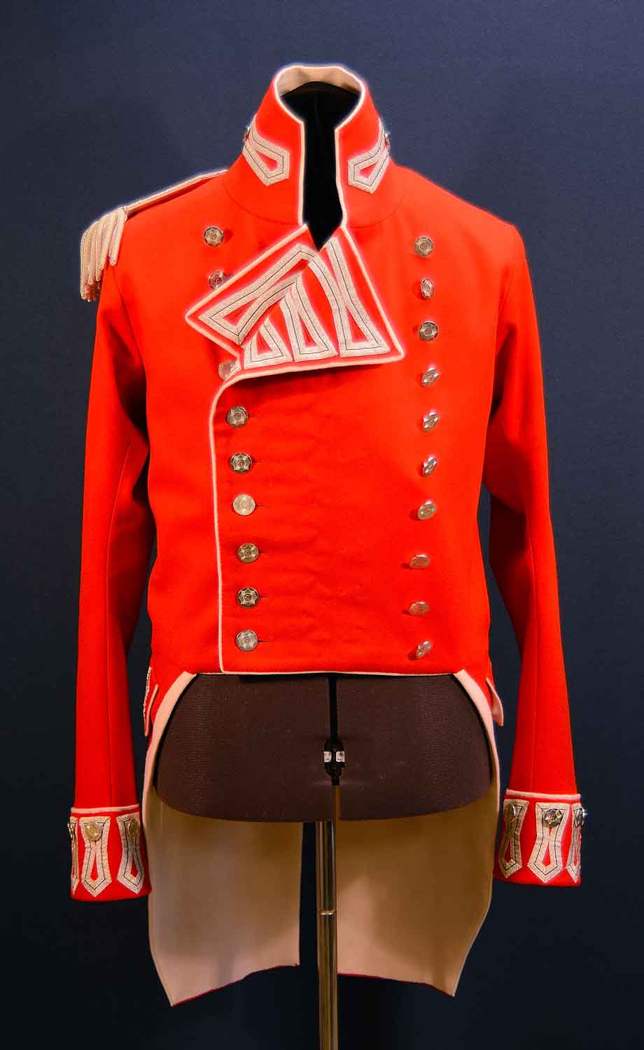 British, 41st Regt of Foot, Officers Coat