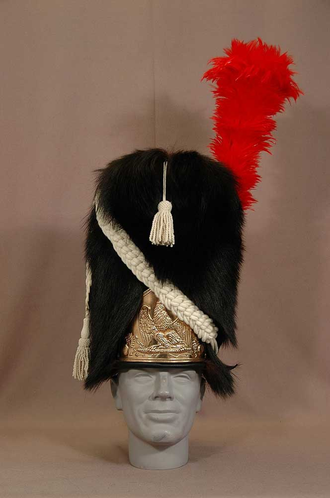 French, Imperial Guard Bonnet-a-Poil