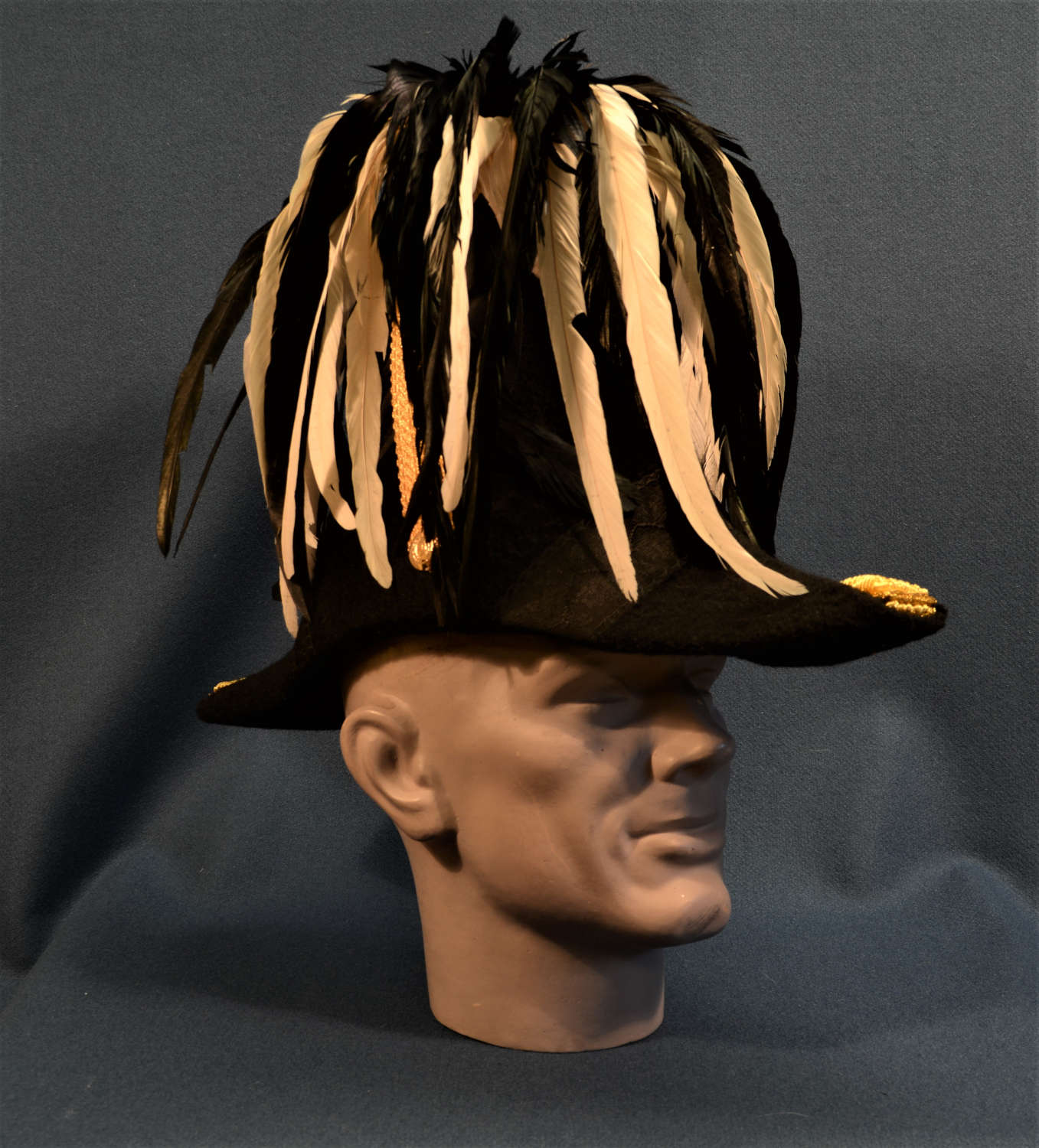British, Commissariat Cocked Hat, Officer