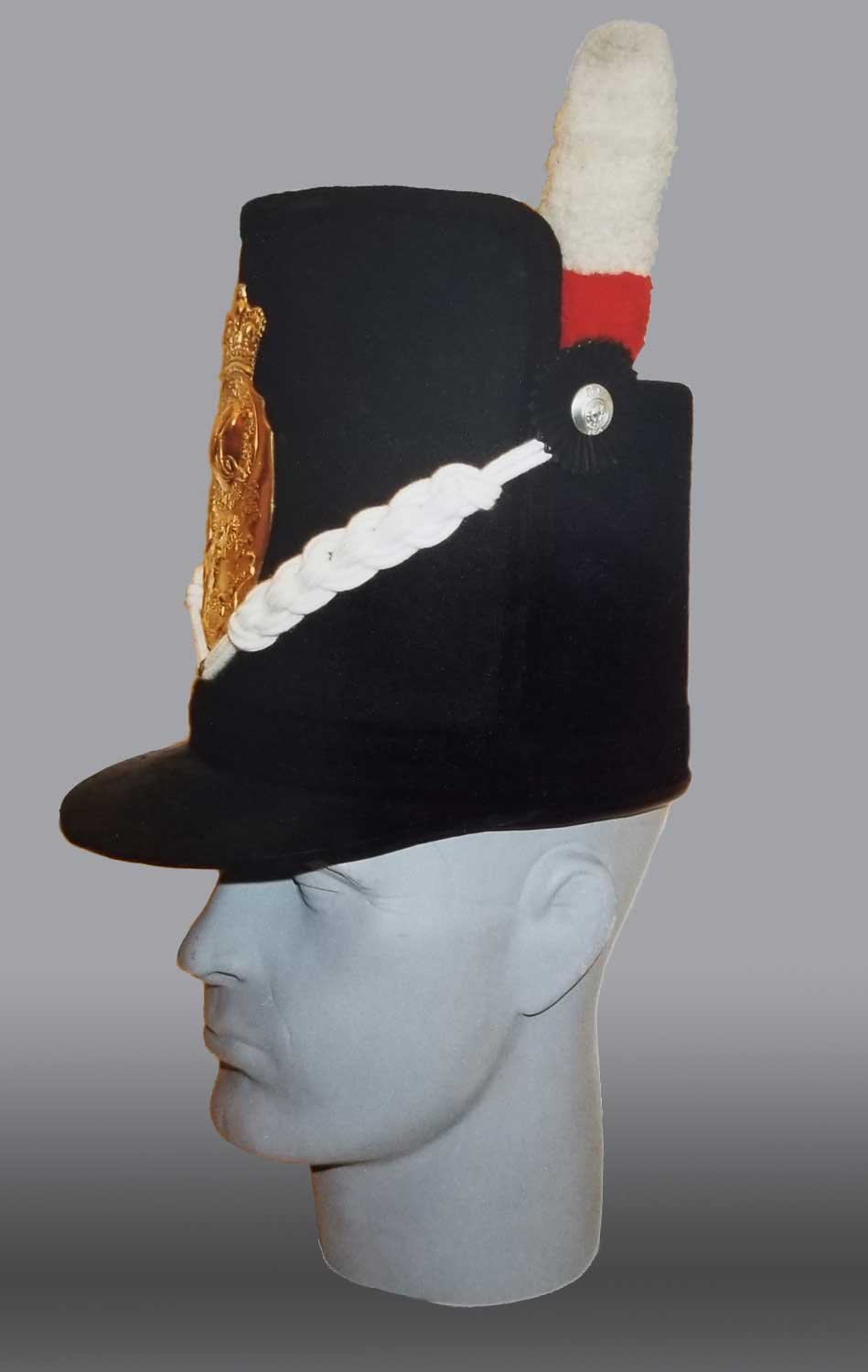 British, 1st (Royal Scots) Regt Shako