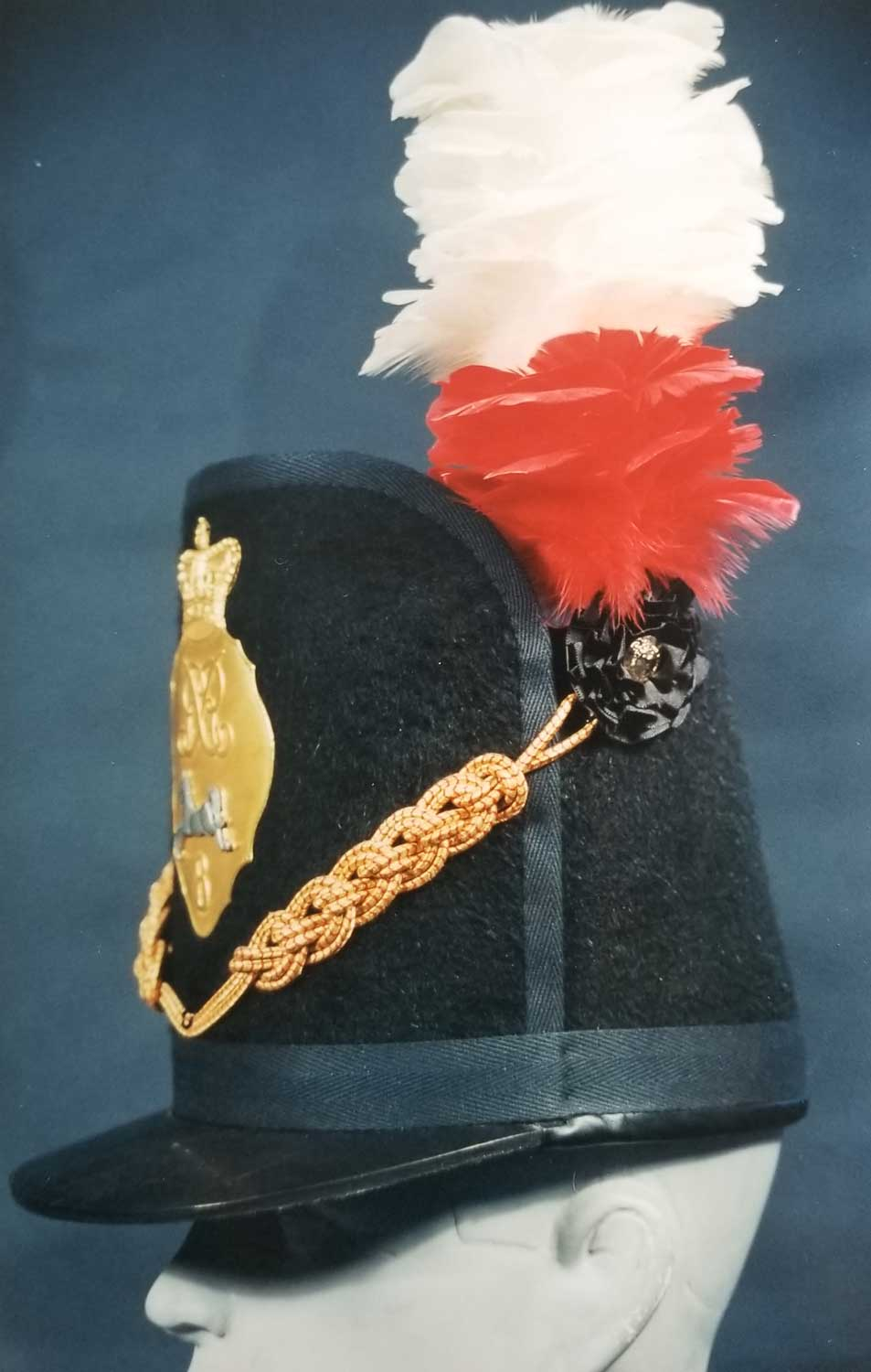 British, 8th (The King's) Regt Shako, Officer