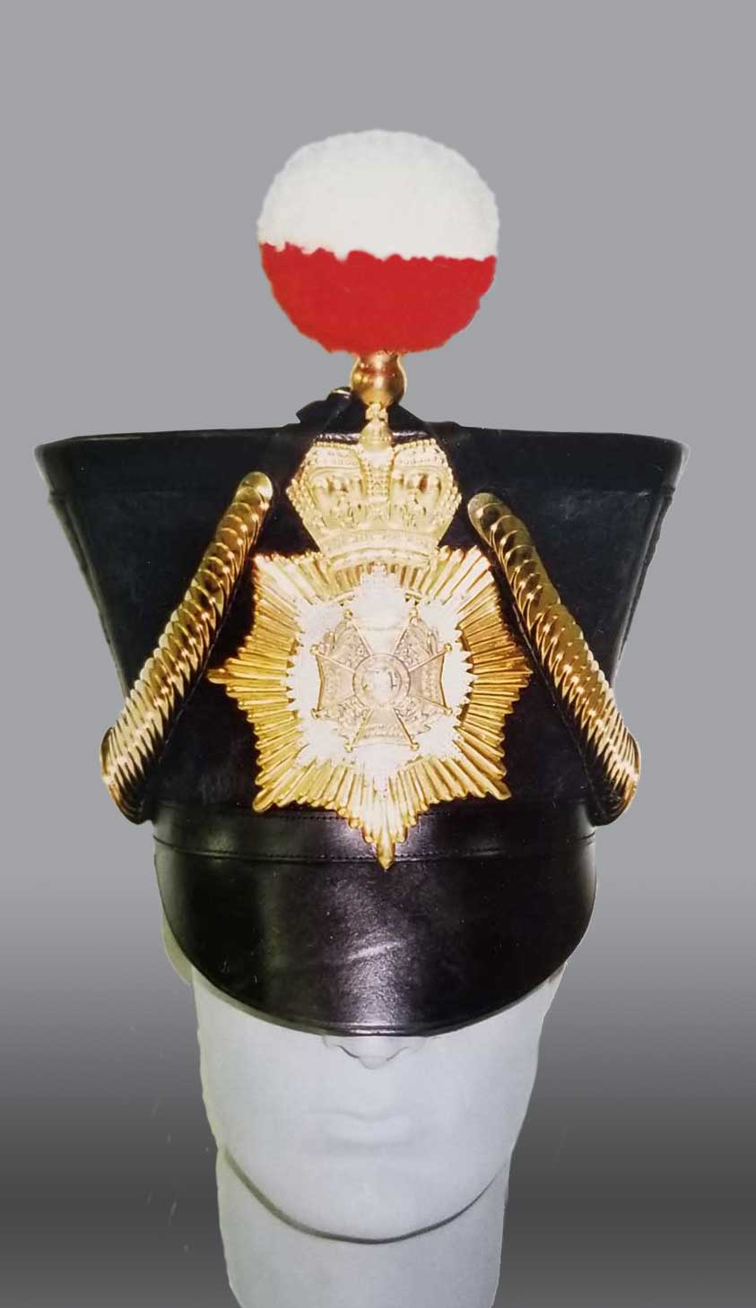 British, 34th Regt Shako