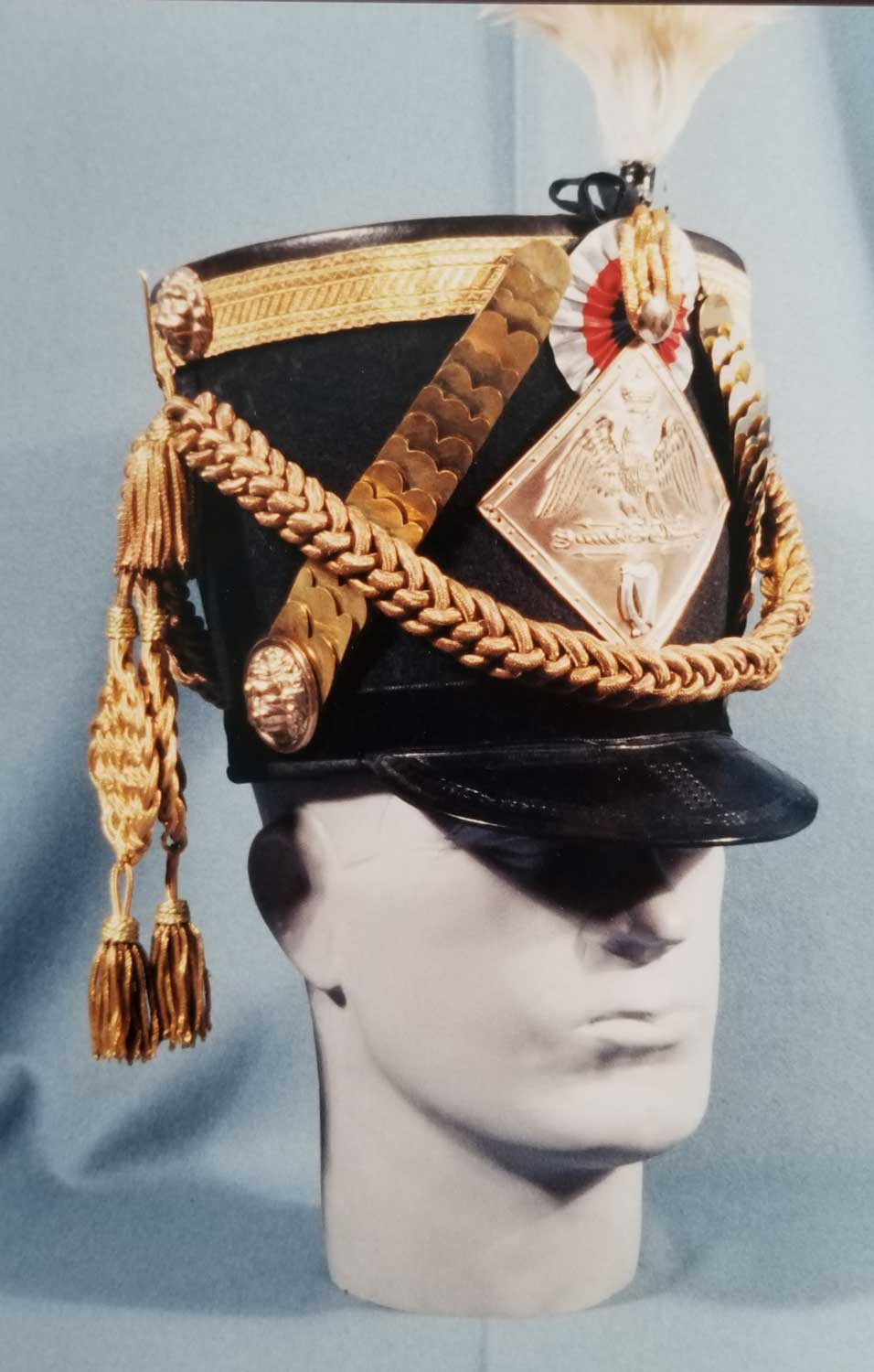 French, Legion Irlandarse Shako, Colonel