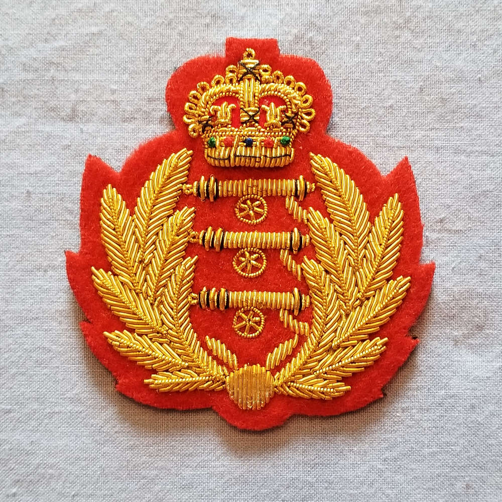 British, Royal Artillery Turnback Ornament