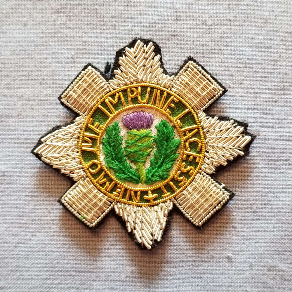 Scottish, Order of the Thistle