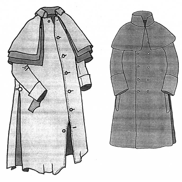 The Old Greatcoat Pattern c. 1790-1825