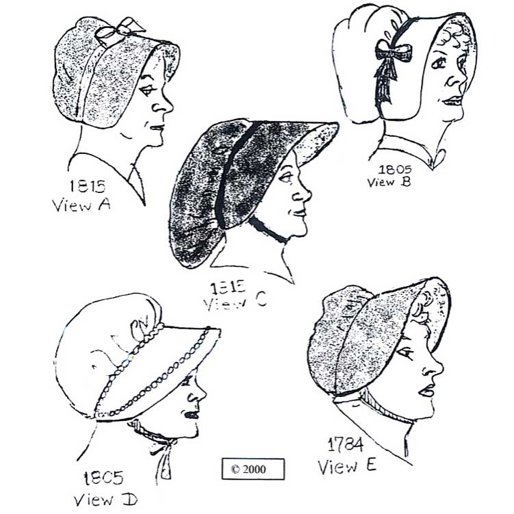 Workwoman's Outdoor Bonnets