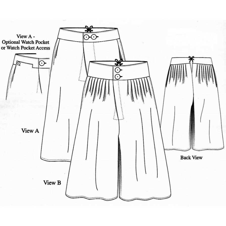 Man's Outer Breeches or 'Slops'