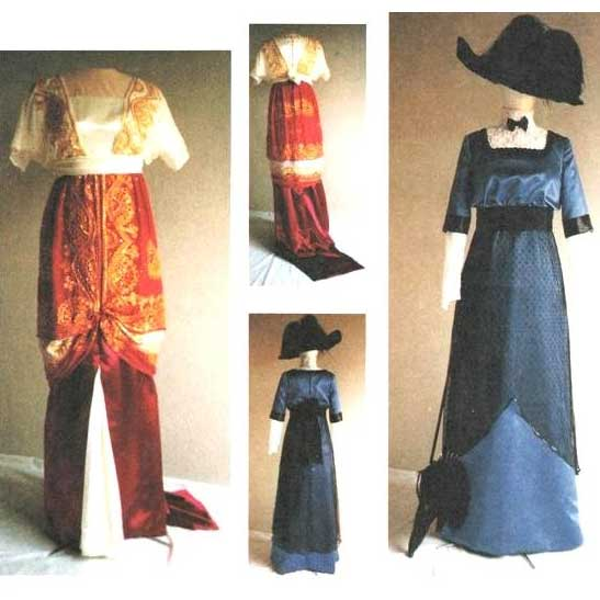 1909-1913 Day and Evening Dress