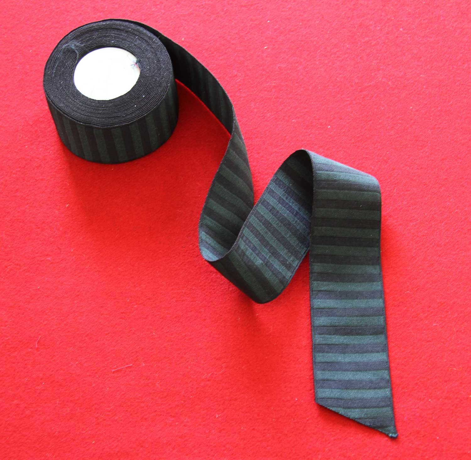 Green and Black Ribbon