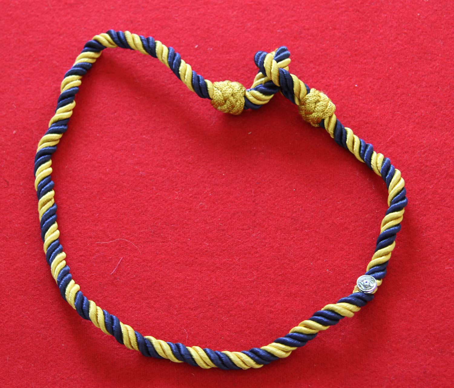 Blue and Gold Cord