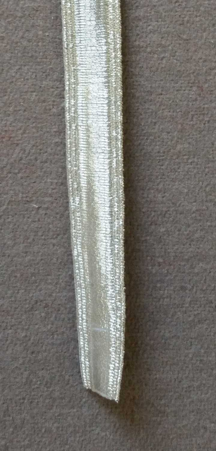 Single Vellum Mylar Lace, 3/8""