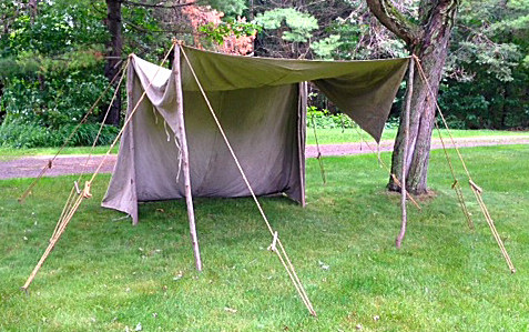 Convertible Wedge Tent