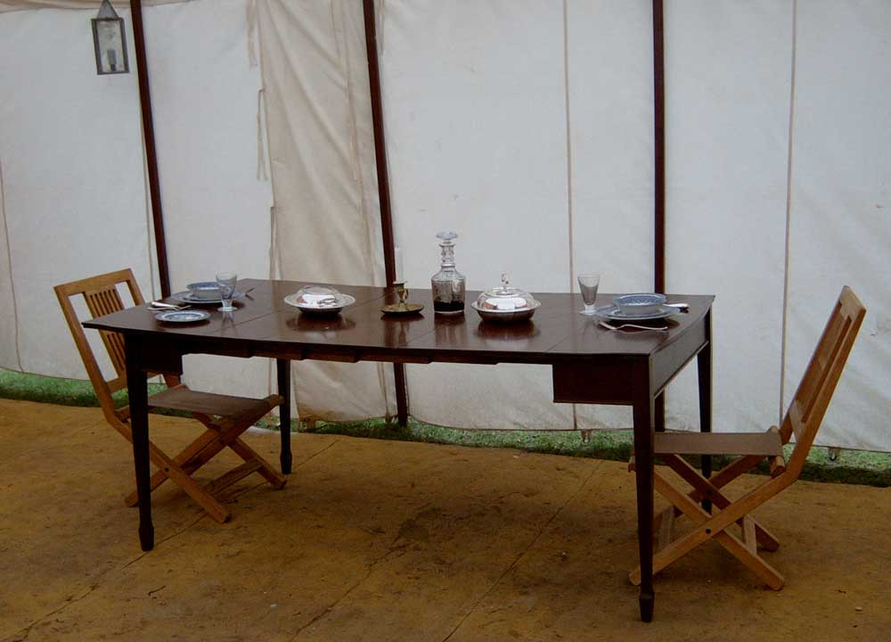 Campaign Dining Table